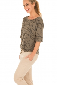 Juvia | Shirt Safari | bruin  | Afbeelding 3