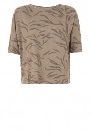 Juvia | Shirt Safari | bruin  | Afbeelding 1