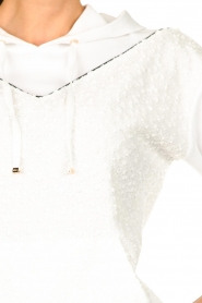 Liu Jo |  Boucle sweater Hera | white  | Picture 6