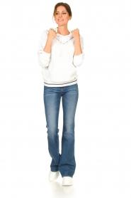 Liu Jo |  Boucle sweater Hera | white  | Picture 3