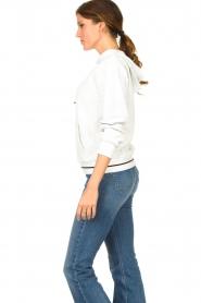 Liu Jo |  Boucle sweater Hera | white  | Picture 4