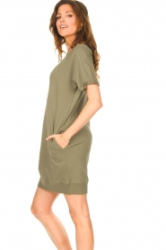 Blaumax |  Sweater dress Queens | green  | Picture 5
