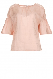 Knit-ted |  Top with polkadot pattern Nadesh | pink  | Picture 1