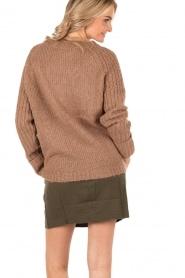 Knit-ted | Grofgebreide Daphne | bruin  | Afbeelding 5