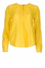 Lolly's Laundry |  Blouse Singh | yellow  | Picture 1