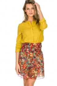 Lolly's Laundry |  Blouse Singh | yellow  | Picture 2