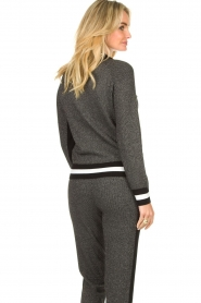 Liu Jo | Cardigan with lurex details Coraly | black  | Picture 6