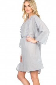 Lolly's Laundry |  Tunic dress Gwen | blue  | Picture 4