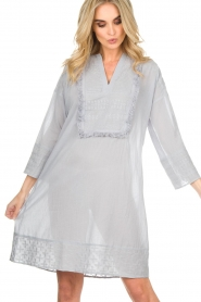 Lolly's Laundry |  Tunic dress Gwen | blue  | Picture 3