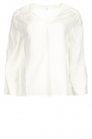 Knit-ted | Top Hanneke | wit  | Afbeelding 1