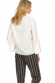 Knit-ted | Top Hanneke | wit  | Afbeelding 6