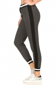 Liu Jo |  Sweatpants with lurex details Coraly | grey  | Picture 5