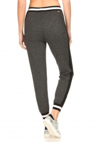 Liu Jo |  Sweatpants with lurex details Coraly | grey  | Picture 6