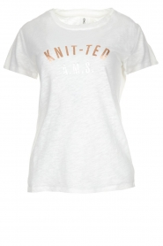 Knit-ted |  T-shirt Mia | white  | Picture 1