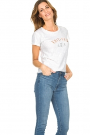 Knit-ted |  T-shirt Mia | white  | Picture 5