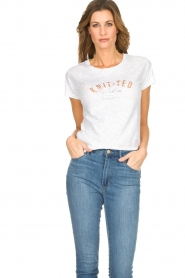 Knit-ted |  T-shirt Mia | white  | Picture 2