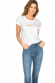 Knit-ted |  T-shirt Mia | white  | Picture 4
