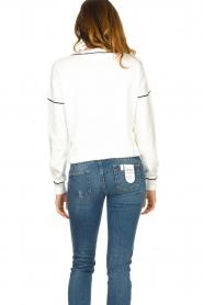 Liu Jo    Logo sweater Deluxe   white    Picture 7