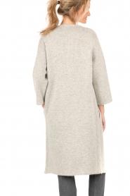Knit-ted | Vest Xandra | grijs  | Afbeelding 5