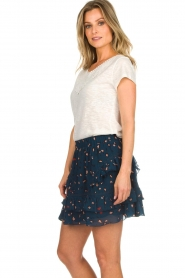 Knit-ted |  Top with crocheted detail Hilde | white  | Picture 4