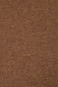 Knit-ted | Fijngebreide sjaal Sam | bruin  | Afbeelding 4