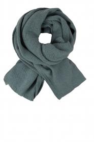 Knit-ted | Fijngebreide sjaal Sam | blauw  | Afbeelding 1