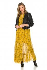 Lolly's Laundry | Maxi-jurk Neyma | geel  | Afbeelding 3