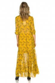 Lolly's Laundry | Maxi-jurk Neyma | geel  | Afbeelding 5