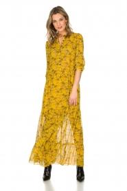 Lolly's Laundry | Maxi-jurk Neyma | geel  | Afbeelding 2