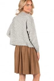 Knit-ted | Gebreide rok Jolie | choco  | Afbeelding 5