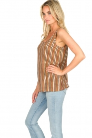 Knit-ted |  Striped top Gwen | multi  | Picture 4