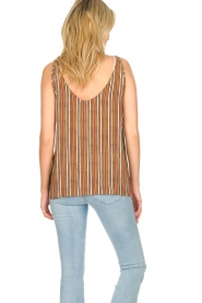 Knit-ted |  Striped top Gwen | multi  | Picture 5