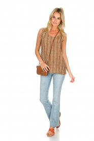 Knit-ted |  Striped top Gwen | multi  | Picture 3