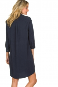 Knit-ted |  Blouse dress Verona | navy  | Picture 5