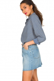 Lolly's Laundry | Blouse Allison | Blauw  | Afbeelding 5