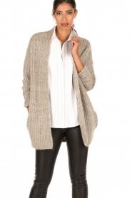 Knit-ted | Vest Audrey | groen  | Afbeelding 2