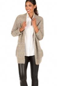 Knit-ted | Vest Audrey | groen  | Afbeelding 6