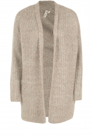 Knit-ted | Vest Audrey | groen  | Afbeelding 1