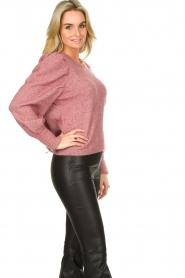 Fracomina |  Sweater met motief Alida | black  | Picture 10
