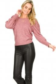 Fracomina |  Sweater met motief Alida | black  | Picture 9