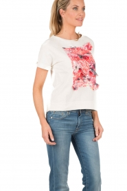T-shirt Felpa  white