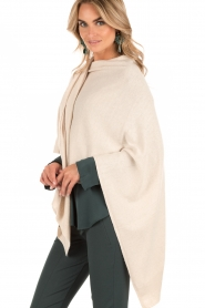 Knit-ted | Poncho Tara | naturel  | Afbeelding 4
