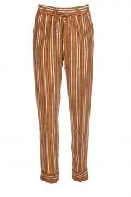 Knit-ted |  Striped trousers Goia | multi  | Picture 1