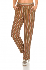 Knit-ted |  Striped trousers Goia | multi  | Picture 3