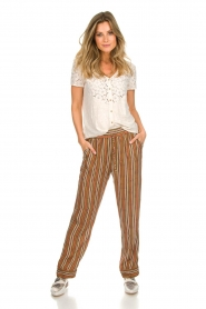 Knit-ted |  Striped trousers Goia | multi  | Picture 2