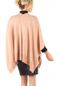 Knit-ted | Poncho Tara | roze  | Afbeelding 5
