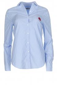 Essentiel Antwerp   Gestreepte blouse Paksoi   blauw    Afbeelding 1