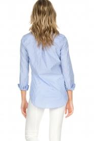 Essentiel Antwerp   Gestreepte blouse Paksoi   blauw    Afbeelding 5