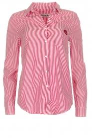 Essentiel Antwerp | Gestreepte blouse Paksoi | rood  | Afbeelding 1