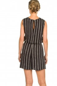 Knit-ted |  Striped top Grace | black  | Picture 6